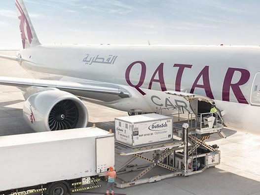 Qatar moved 50,000 tonnes of critical supplies in a pandemic month