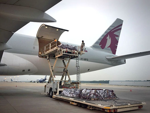 Qatar Airways Cargo charters oil and energy equipment to Cabo Frio for DHL Global Forwarding