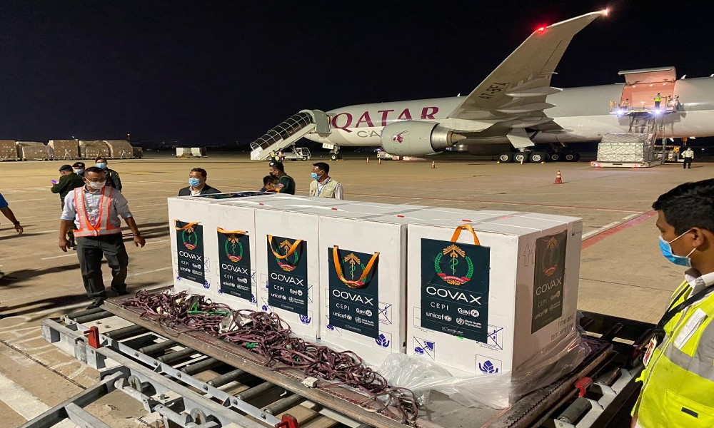 Qatar Airways Cargo transported over 1.5 million Covid-19 vaccine doses into Qatar, with its largest batch of more than 530,000 Pfizer and Moderna vaccines arriving on April 4 from Amsterdam.