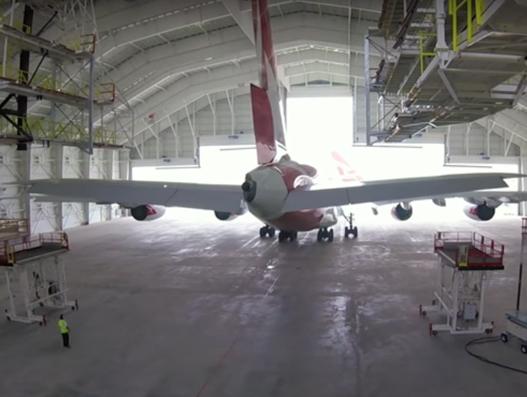 Qantas invests more than $30 million to build new aircraft maintenance facility at Los Angeles Airport