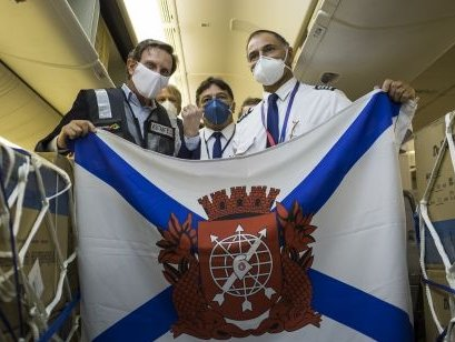 Respirators, health supplies reach RIOgaleao Airport from China