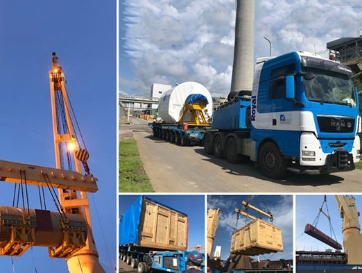 Royal Cargo delivers heaviest piece of cargo for Philippines power plant project