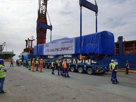 Royal Cargo moves multiple unit trains of Philippine National Railways