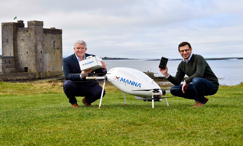 Samsung to use Manna drones to deliver Galaxy devices in global-first