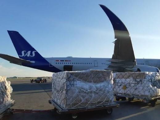 SAS Cargo reopens freight corridors to China