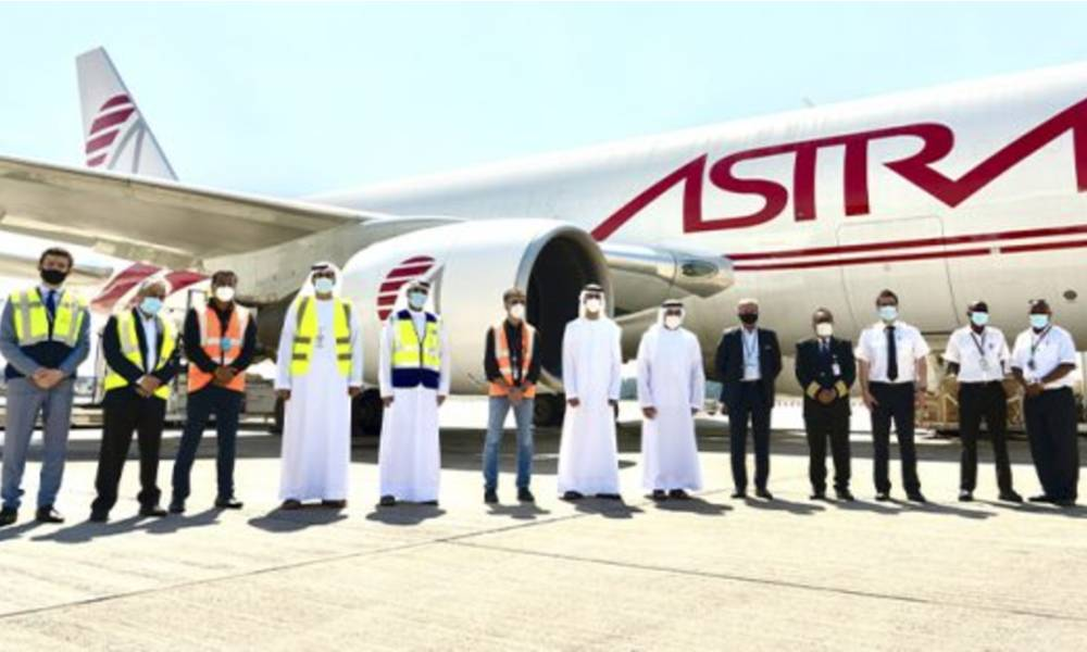 Sharjah Airport becomes Astral Aviation's hub in the Middle East