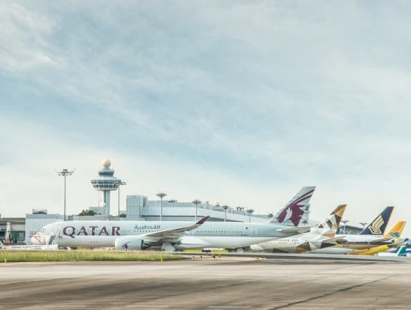 Singapore Changi Airport sees double digit growth in cargo volume in August this year