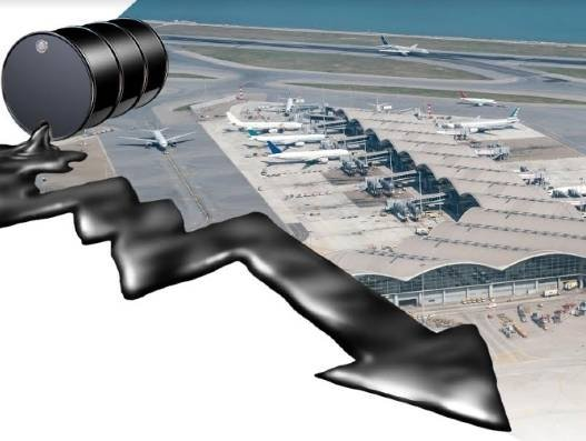 Sinking oil prices bring little cheer to aviation industry