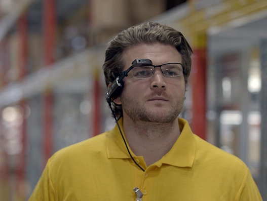 Smart glasses by DHL Supply Chain to improve order picking productivity by 15%
