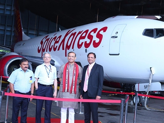 SpiceJet inducts first freighter at Delhi's IGI Airport; cargo ops to begin from Sep 18
