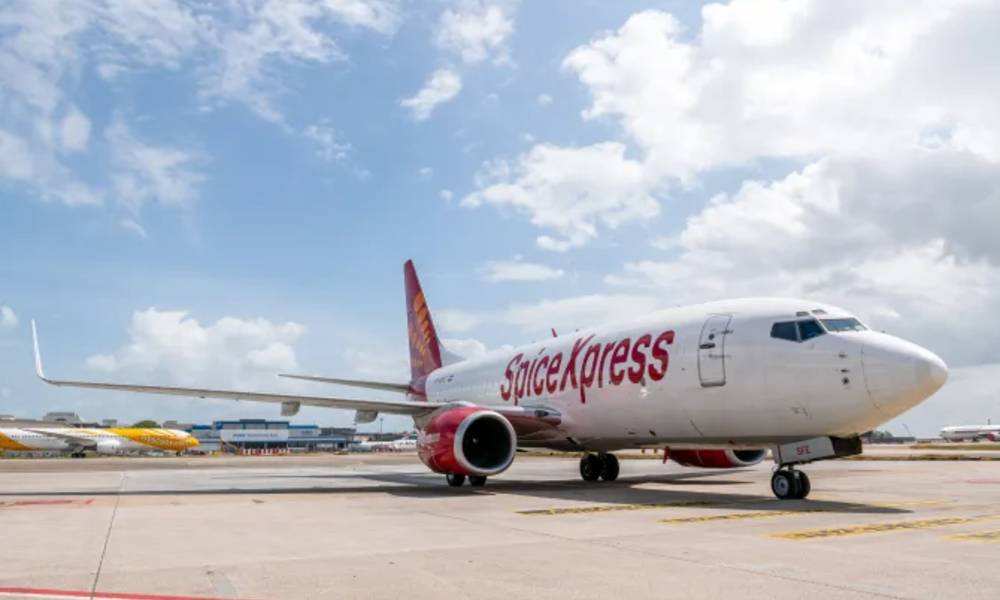 SpiceJet launches scheduled freighter services between Singapore and India