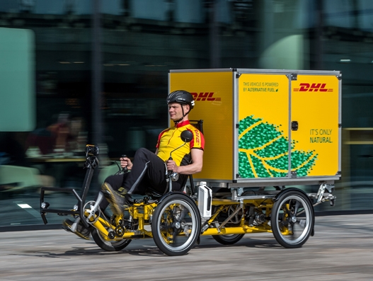 DHL expands green urban delivery with City Hub for cargo bicycles