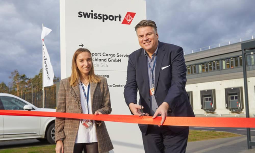 Swissport opens new air cargo warehouse and pharma center at Frankfurt Airport