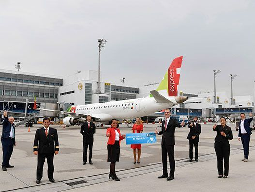 TAP Air Portugal resumes flights on Munich-Lisbon route