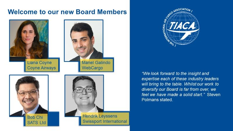 TIACA inducts four new members to board
