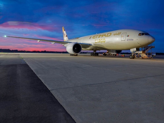 Trinity Logistics USA and Etihad Airways collaborate to operate freighter on Vietnam-Ohio route