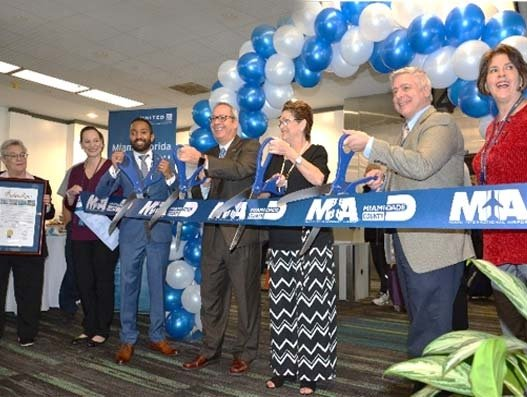 United Airlines celebrates 60 years of service at Miami airport