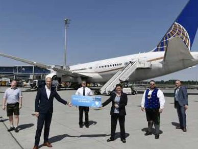 United Airlines resumes three flights a week from Munich to Washington