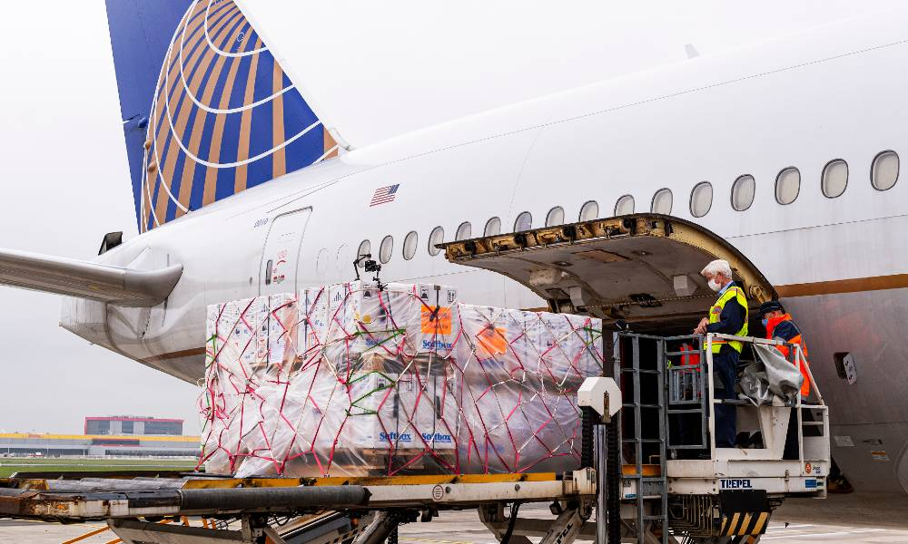 United Cargo flies first FDA-authorised Covid-19 vaccines to the US