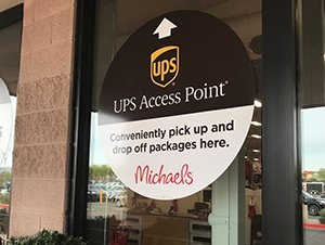 UPS, Michaels enable contactless pickup/drop of packages