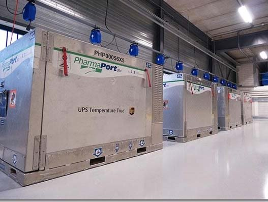 UPS expands active temperature-controlled service for pharma in Italy