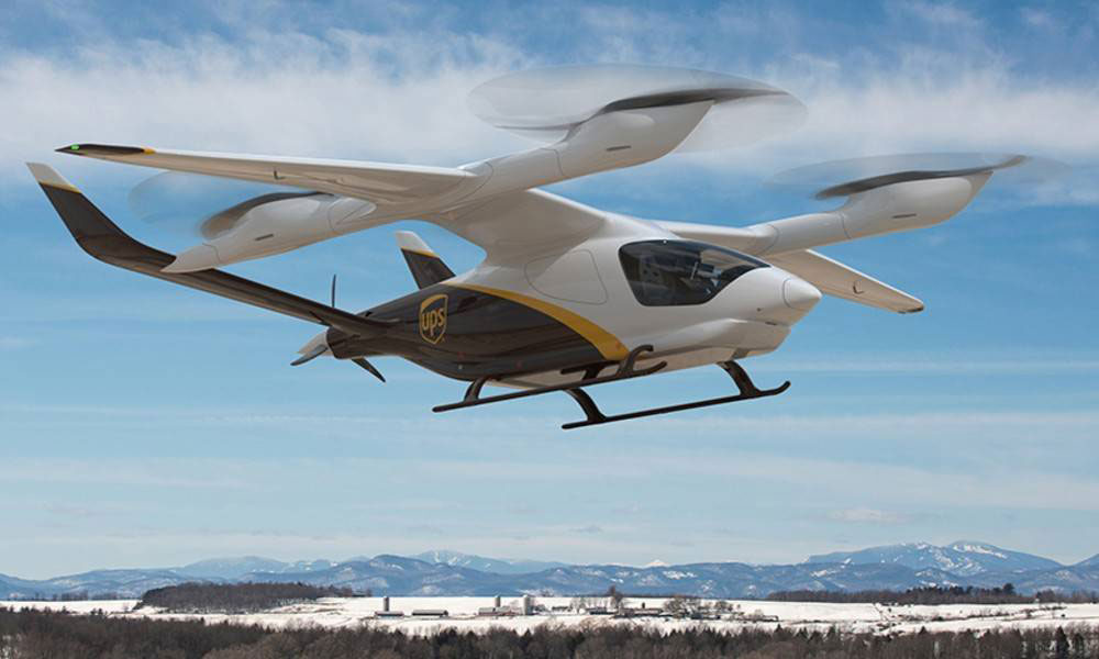 UPS Flight Forward to acquire eVTOL aircraft from Beta Technologies