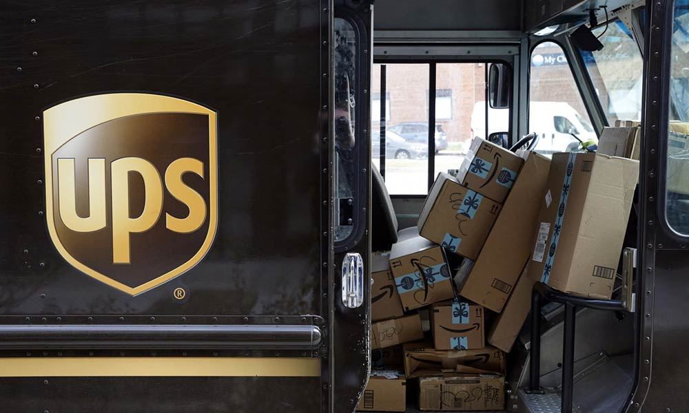 UPS sees Q4 revenues grow by 21%