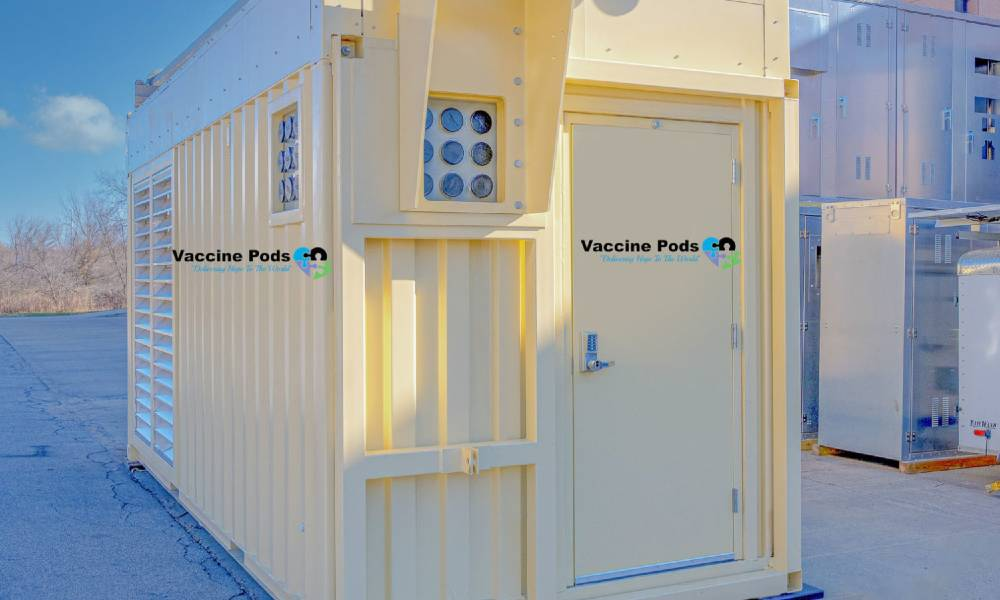 Vaccine Pods launches innovative new technology to help in Covid-19 vaccine distribution