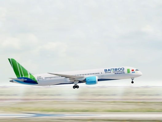 Vietnam's Bamboo Airways receives B787-9, first wide body to join its fleet