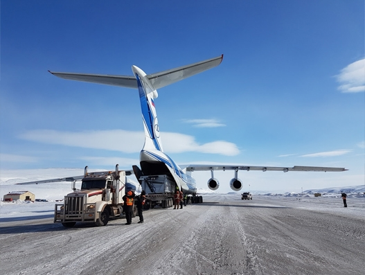 Volga-Dnepr helps Canadian iron ore mining project increase its 2017 production target