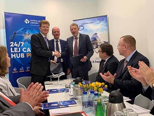 Volga-Dnepr Group enters into long-term partnership with Leipzig/Halle Airport