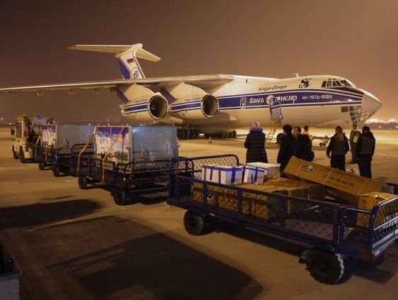 Pandas travel to Finland onboard Volga-Dnepr's freighter