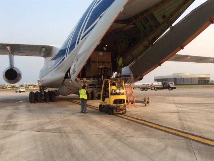 Volga-Dnepr Airlines joins Hurricane Irma relief effort