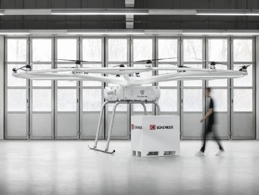 Volocopter partners with DB Schenker to deploy heavy-lift drones