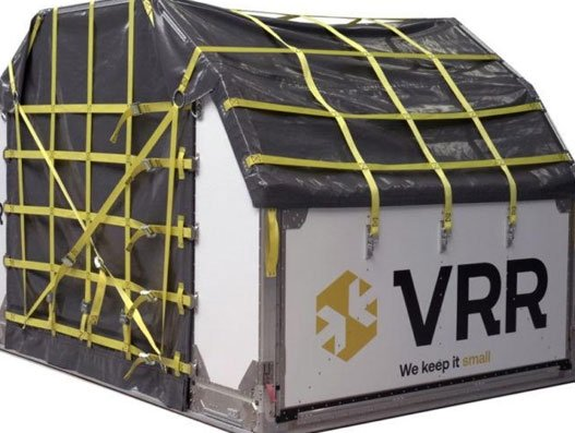 VRR to launch world's first collapsible main deck container