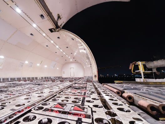 Waiting to be filled air cargo continues to be in the doldrums