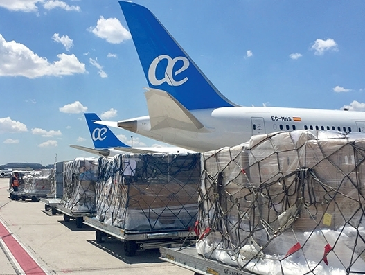 WFS to provide cargo handling services to Air Europa at nine airports