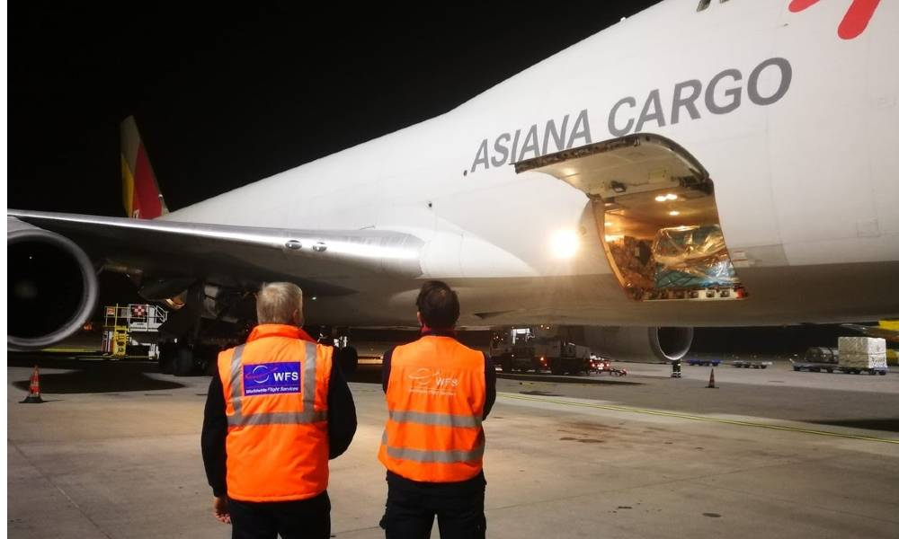 WFS wins Asiana Airlines' cargo handling contract at Milan-Malpensa Airport