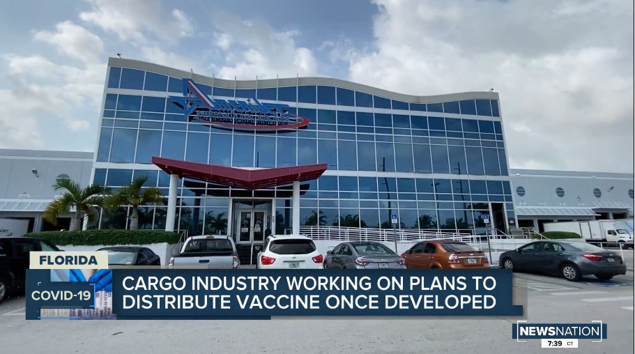 Why Amerijet is ready to transport Covid-19 vaccines