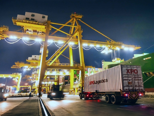 XPO Logistics ranked as the largest logistics company in North America