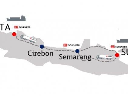 PT Schenker Petrolog Utama extends land transportation options across Java