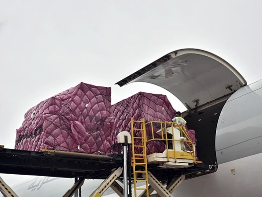 Qatar Airways Cargo charters 100 tonnes of medicines from Mumbai to Brasilia