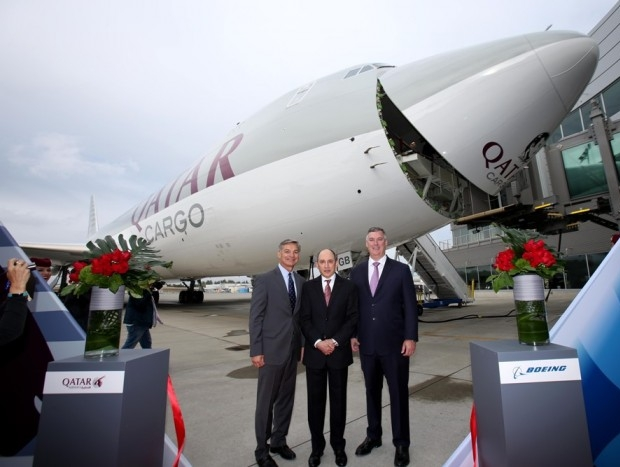 Qatar Airways confirms order for two 747-8 Freighters
