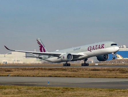Qatar Airways welcomes its 53rd Airbus A350