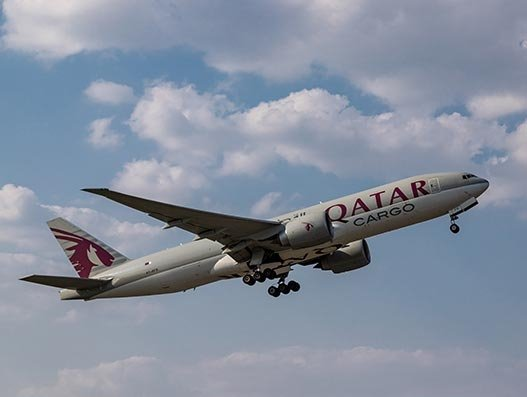 Qatar deploys B777Fs to its China, France airbridge