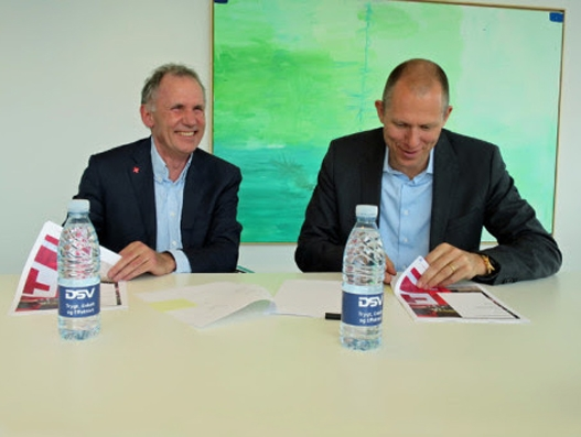 DSV signs agreement with Red Cross Denmark
