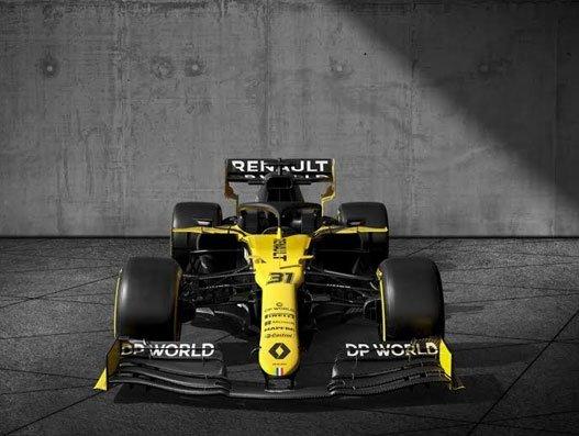 Renault signs DP World global logistics partner and title partner for Formula 1