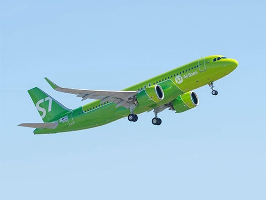 S7 Airlines adds A320neo to its fleet