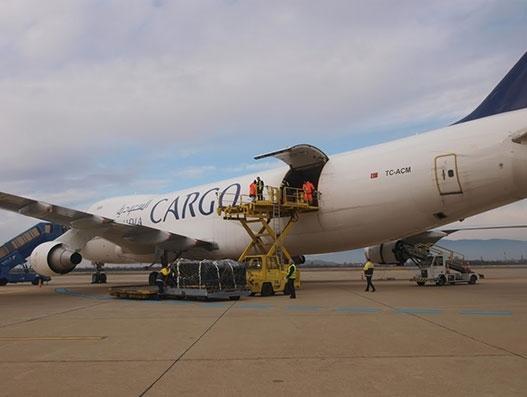 Saudia Cargo brings the international Cirque du soleil equipment to Riyadh