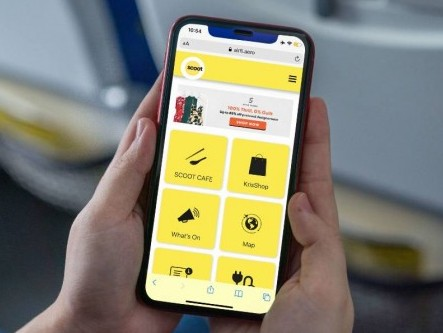 Scoot launches new in-flight portal ScootHub in preparation for post-Covid-19 travel